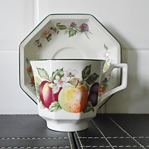 Johnson Brothers Fresh Fruit Cup & Saucer