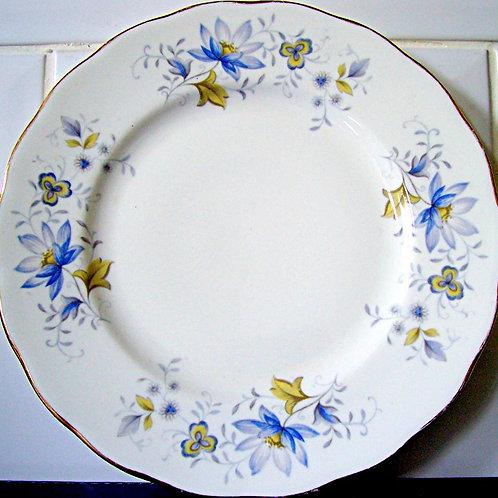 Colclough Rhapsody in Blue Salad Plate