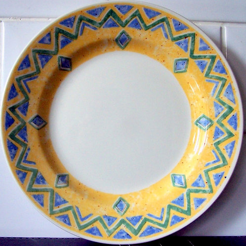 Churchill Ports of Call Herat Salad Plate