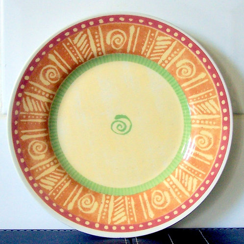 Churchill Ports of Call Mali Tea Plate