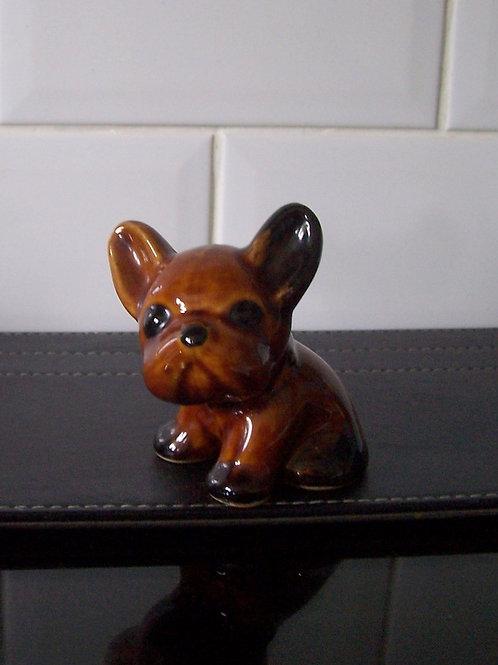 Denby Byngo Dog Brown Treacle Glaze