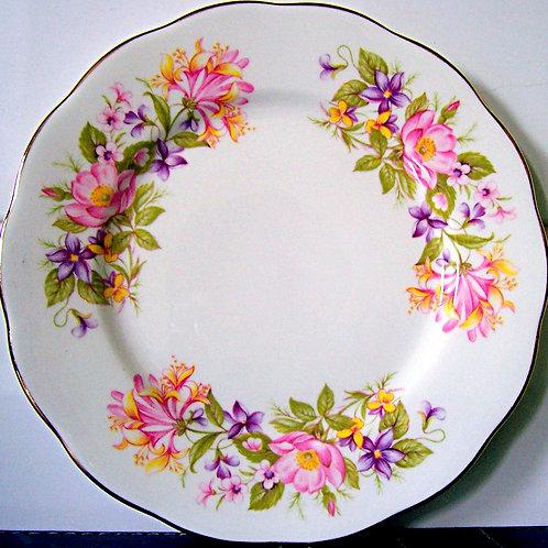 Colclough Wayside Tea Plate