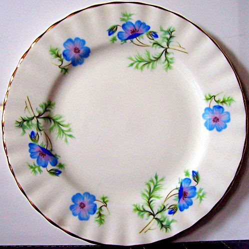 Richmond Blue Poppy Tea Side Plate