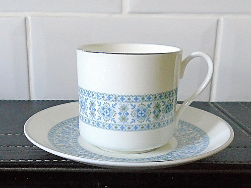 Royal Doulton Counterpoint Coffee Cup and Saucer