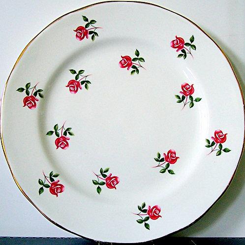 Colclough Fragrance Rosebud Salad Plate