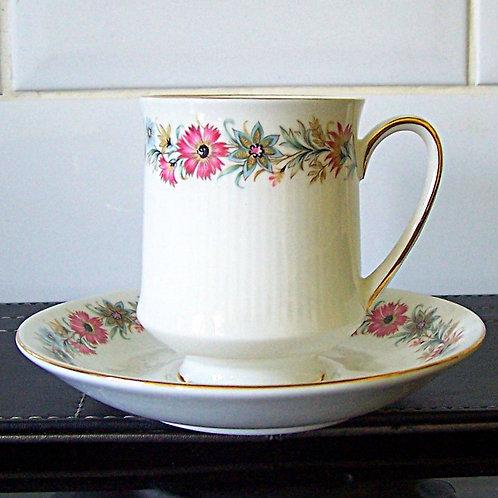 Paragon Belinda Coffee Cup & Saucer Demi Tasse