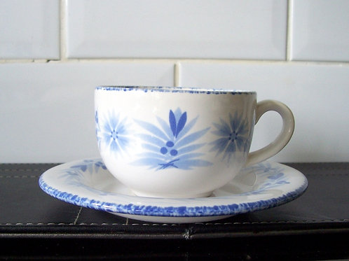Hornsea Pottery Provence Cup & Saucer