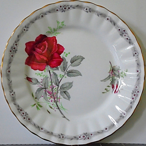 Royal Stafford Roses to Remember Tea Side Plate