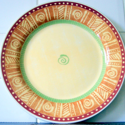 Churchill Ports of Call Mali Dinner Plate