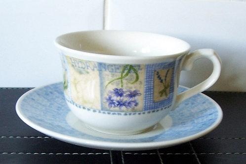 Churchill Hydrangea Cup & Saucer