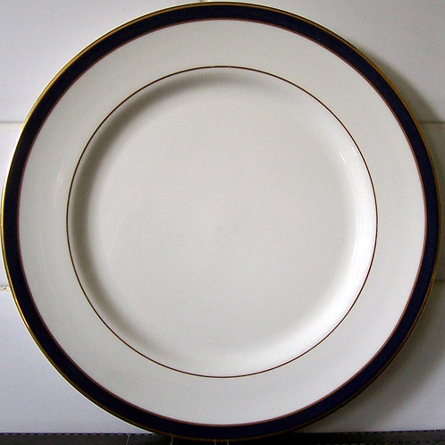 Royal Grafton Warwick Blue Dinner Plate
