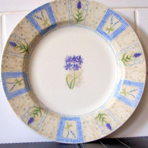 Churchill Hydrangea Salad Plate