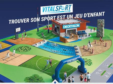 Retrouvez nous à Vital Sport !