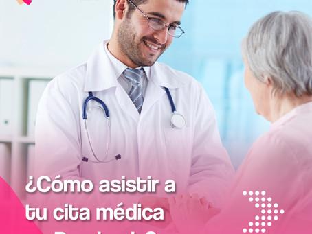 ¿Cómo asistir a tu cita médica en Pandemia?