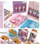 Arome Ambiance Christmas Catalogue Page.