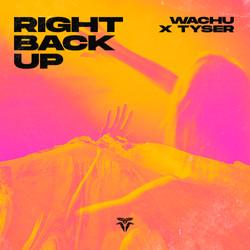 Wachu x Tyser - Right Back Up black
