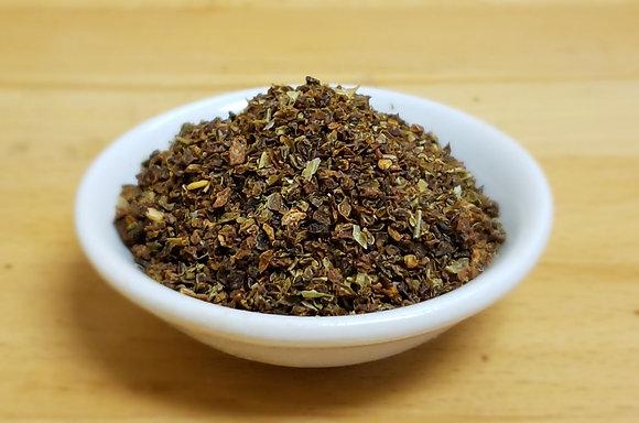 Green Bell Pepper Granules