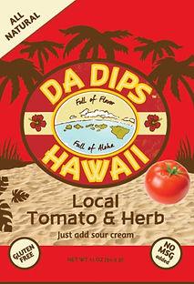 Da Dips Hawaii Local Tomato &  Herb