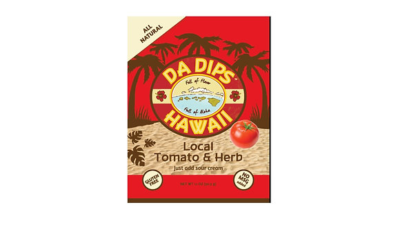Da Dips Hawaii Local Tomato & Herb