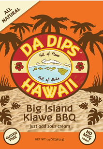 Da Dips Hawaii Big Island Kiawe BBQ