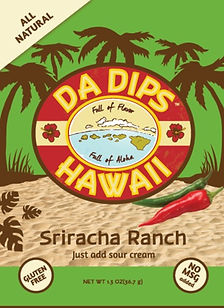 Da Dips Hawaii Sriracha Ranch