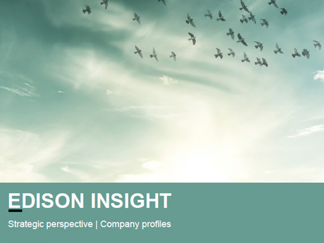 Edison Insight - April 2021