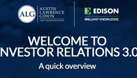 Welcome to Investor Relations 3.0
