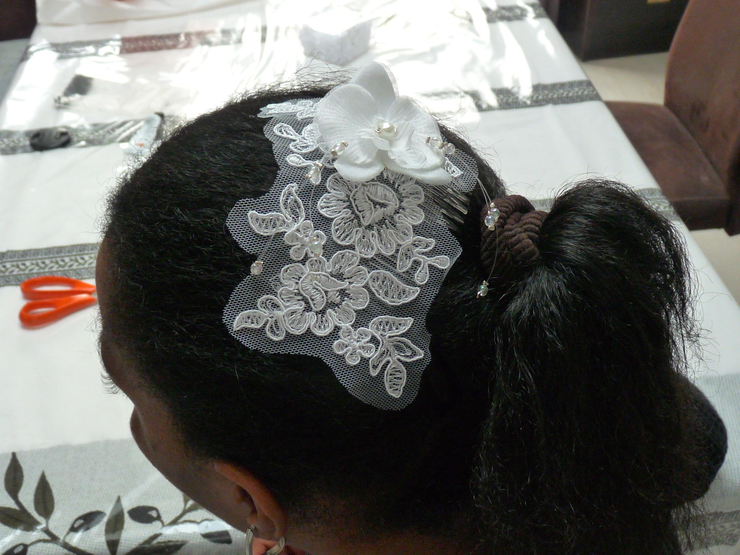 création perle et dentelle