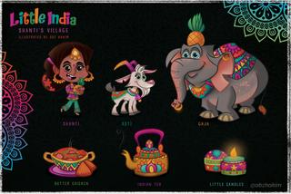 Game-Concept-Art--india--elephant--shant