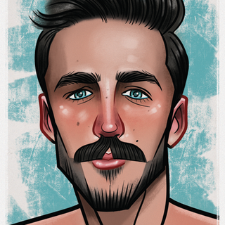1 Caricature - Portraite - Graphic Design - Illustration - Male Model - Abz Hakim