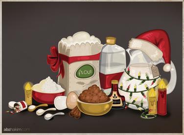 recipe-cookies-holiday-christmas-baking--drawing-cartoon-sketch