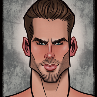 Justin Tardly - Caricature - Portraite - Graphic Design - Illustration - Male Model - Abz Hakim