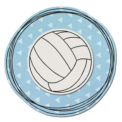 Doodle-Button Volleyball 7x7cm