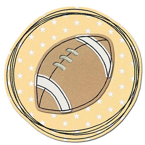 Doodle-Button Football 7x7cm