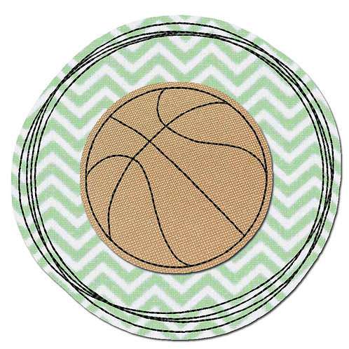 Doodle-Button Basketball 13x13cm