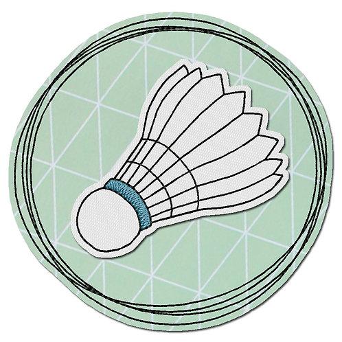 Doodle-Button Federball 7x7cm