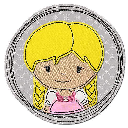 Doodle-Button Madl 10x10cm