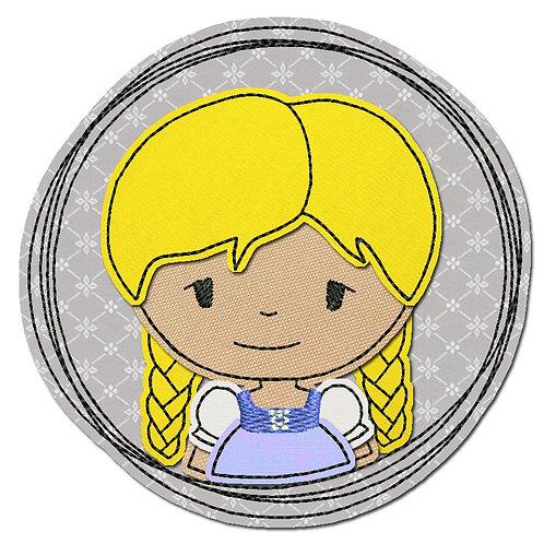 Doodle-Button Madl 7x7cm