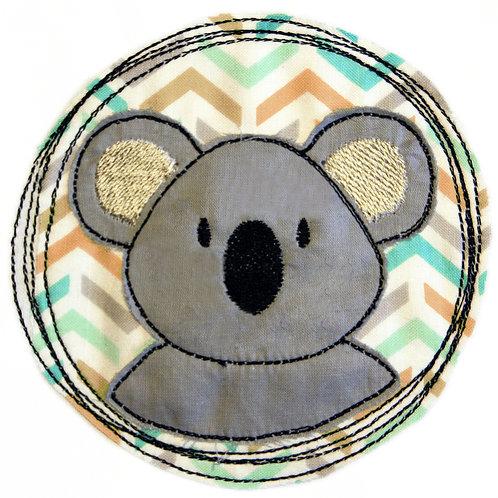 Doodle-Button Koala 13x13cm