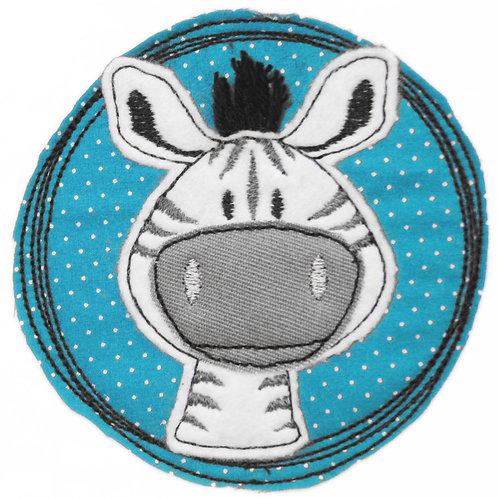 Doodle-Button Zebra 7x7cm