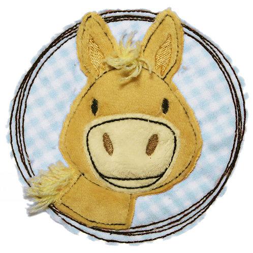 Doodle-Button Pony 7x7cm