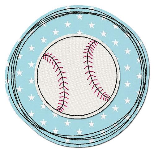 Doodle-Button Baseball 7x7cm