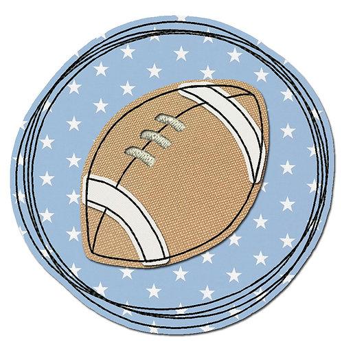 Doodle-Button Football 10x10cm