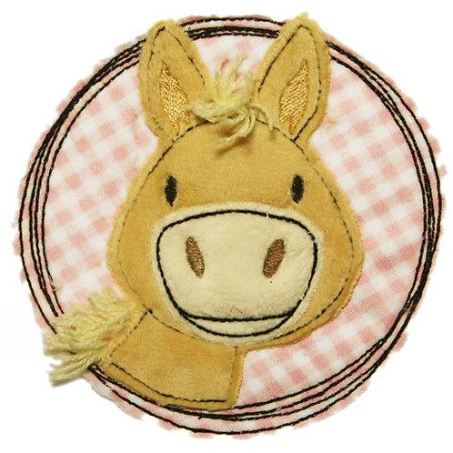 Doodle-Button Pony 10x10cm