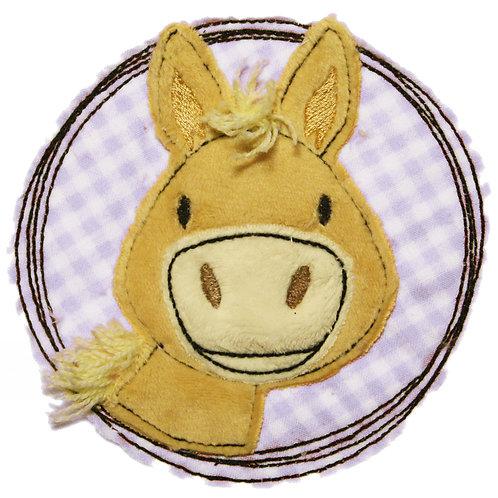 Doodle-Button Pony 13x13cm