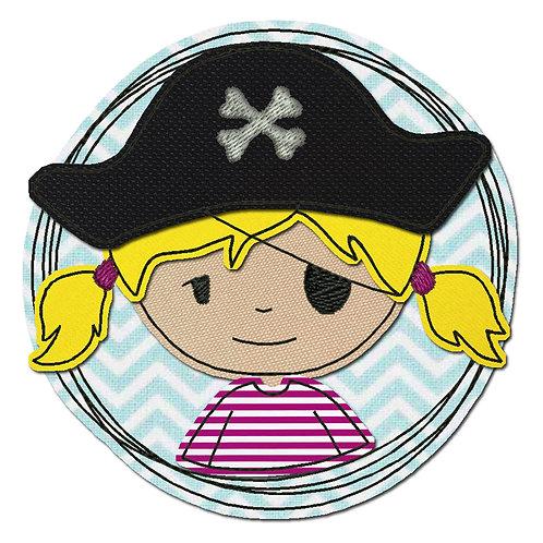 Doodle-Button Piratin 7x7cm