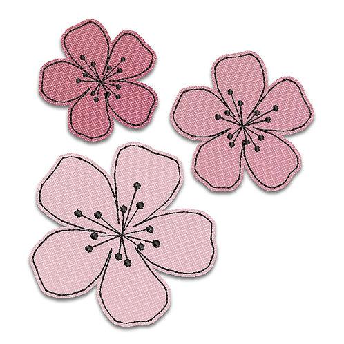 Blüten - Doodle-Set