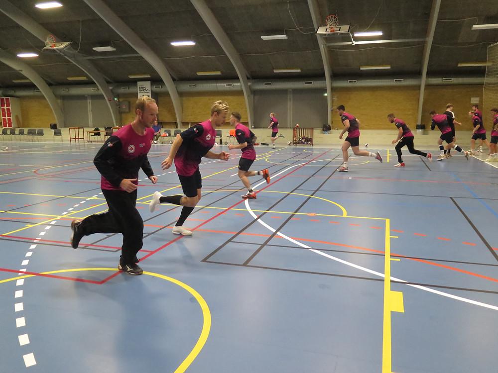 1. træning med bold