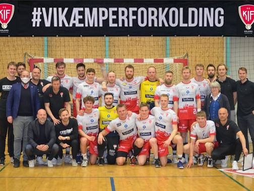 KIF Kolding avancerer til 1/8 finalerne i Santander Cup