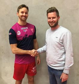 Andreas Flodman forlænger med KIF Kolding